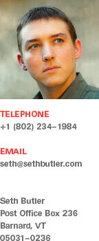 Seth Butler Contact Information